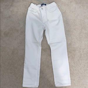 Old navy white skinny jeans